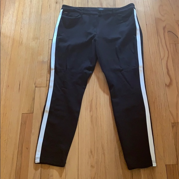 White House Black Market Pants - Wonderful black tuxedo pants!